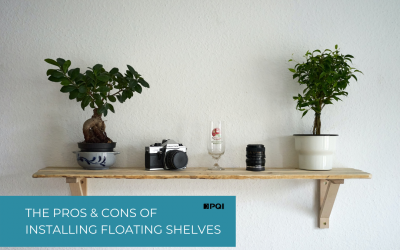 Open and floating shelves
