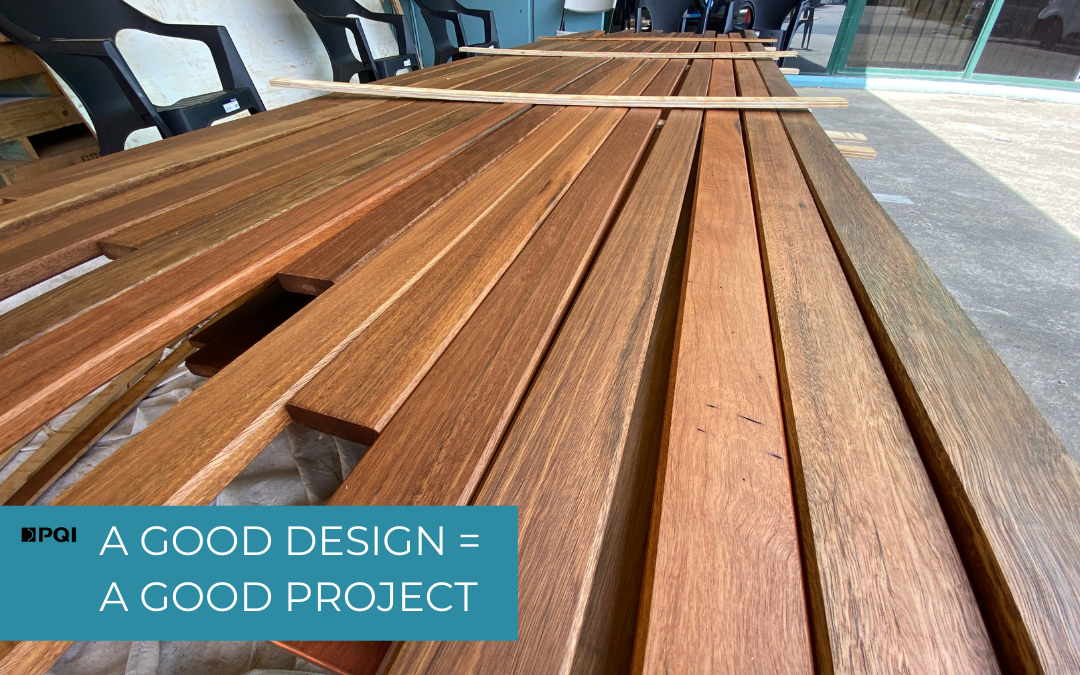 Good design = a good project